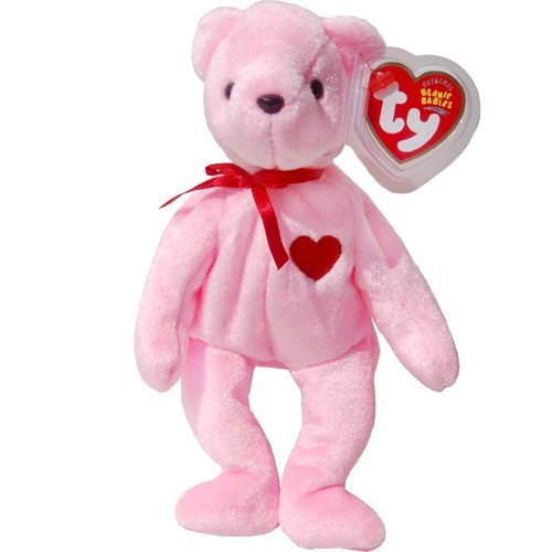 1 X Smooch-E The Pink Valentine'S Day (Internet Exclusive) Teddy Bear - Ty Beanie Babies