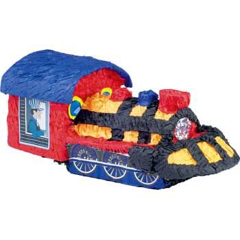 Train Pinata (Great For Birthdays, Parties, New Years Celebration)