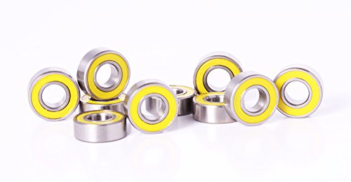 5X11 Rubber Sealed Ball Bearings (10) 5X11X4 For Traxxas Rc Vehicles 5116 Tra5116 Slash Rustler