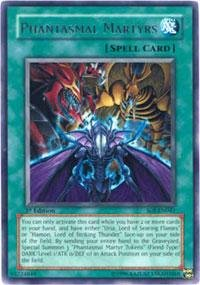 Yu-Gi-Oh! - Phantasmal Martyrs (Soi-En041) - Shadow Of Infinity - 1St Edition - Rare