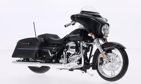 Maisto 2015 Harley Davidson Street Glide Motorcycle 1/12 Scale Pre-Built Model Black