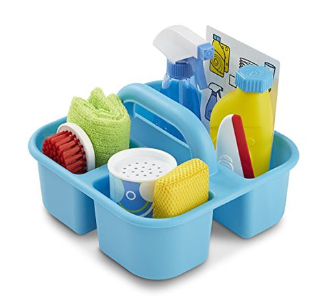 Melissa & Doug Lets Play House! Dust, Sweep, And Mop Set With Spray, Squirt, And Squeegee Set