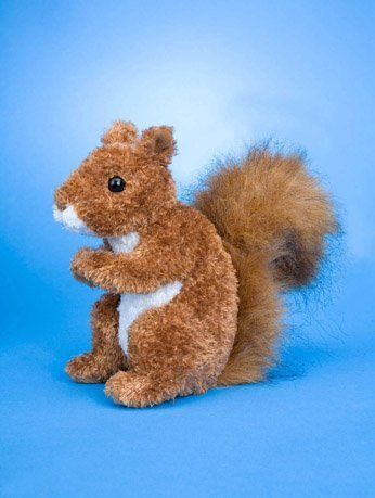 Douglas Cuddle Toys Roadie Red Squirrel (3793)