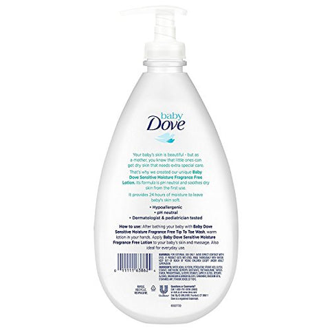 Baby Dove Lotion, Sensitive Moisture 20 Oz