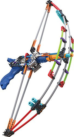 Knex K-Force Battle Bow Build And Blast Set  165 Pieces  Ages 8+ Engineering Education Toy