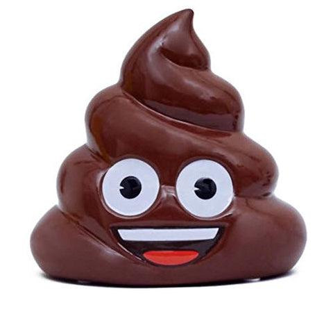 Emoji Poo Coin Bank