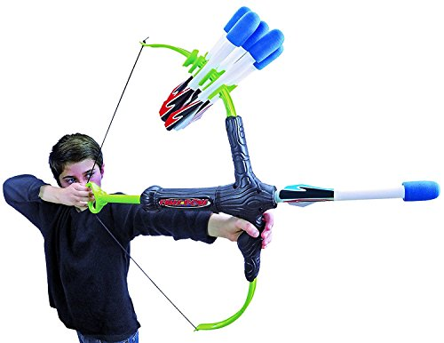 Faux Bow 3 - Shoots Over 100 Feet - Foam Bow &Amp; Arrow Archery Set