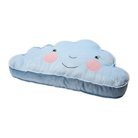 Ikea Cushion Pillow Blue Smiling Cloud Accent Kids Children Toy Throw
