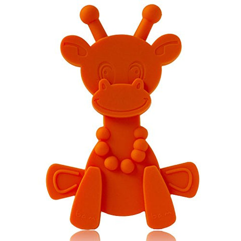 Baby Teether Toy Extraordinaire - Little Bambam Giraffe Teething Toys By Bambeado. Our Bpa Free Teethers Help Take The Stress Out Of Teething, From Newborn Babies Through To Infants