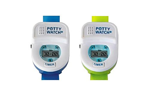 Potty Watch Potty Training Timer, - Blue/Green