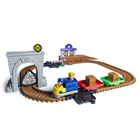 Paw Patrol, Adventure Bay Railway Track Set With Exclusive Vehicle, By Spin Master