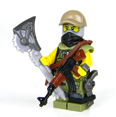 Post Apoc Ranger (Sku79)- Battle Brick Custom Minifigure