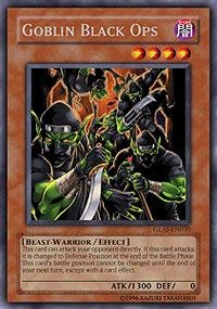 Yu-Gi-Oh! - Goblin Black Ops (Glas-En030) - Gladiators Assault - 1St Edition - Rare