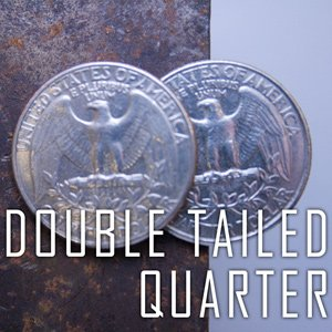 Double Sided Coin - Quarter - Tail