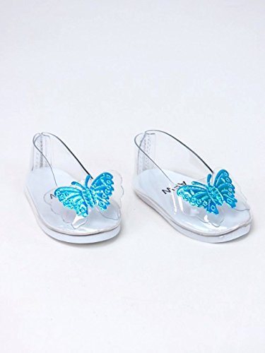 Cinderellas Glass Slippers For 18  Dolls