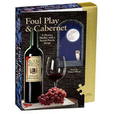 Classic Mystery Jigsaw Puzzle - Foul Play &Amp; Cabernet