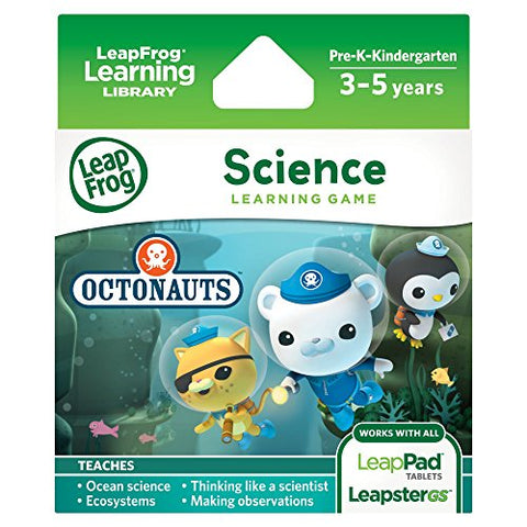 Leapfrog Science Learning Game Disney Octonauts For Leappad Platinum, Leappad Ultra, Leappad1, Leappad2, Leappad3, Leapster Explorer, Leapstergs Explorer