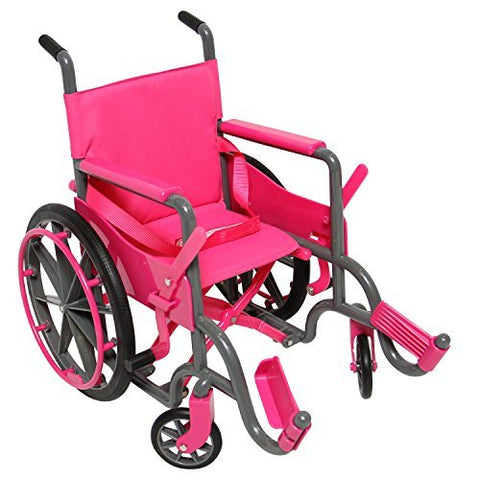 Doll Wheelchair Set With Accessories For 18 Inch Dolls Like American Girl Dolls