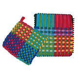 Harrisville Designs Pro 10 Cotton Loops, Blue - Makes 2 Potholders