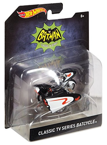 Hot Wheels Classic Tv Series Batcycle Vehicle