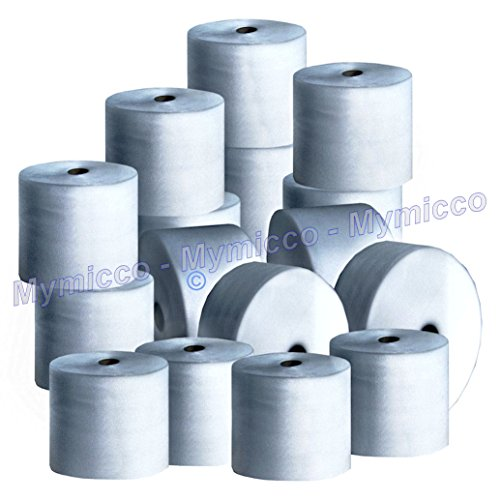 (1/8 ) Inch X (6 ) Inch Wide Shipping Foam - Two 50 Ft Rolls - Mymicco Item 12301