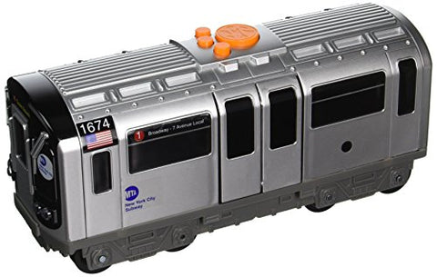 Daron Mta Motorized Subway Car With Lights, Sound & Working Doors