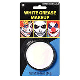 Party Ready White Face Paint Style Grease Makeup Kit, 0.49 Ounce
