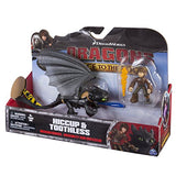 Dreamworks Dragons: Race To The Edge Dragon And Racer Hiccup Action Figure And Toothless