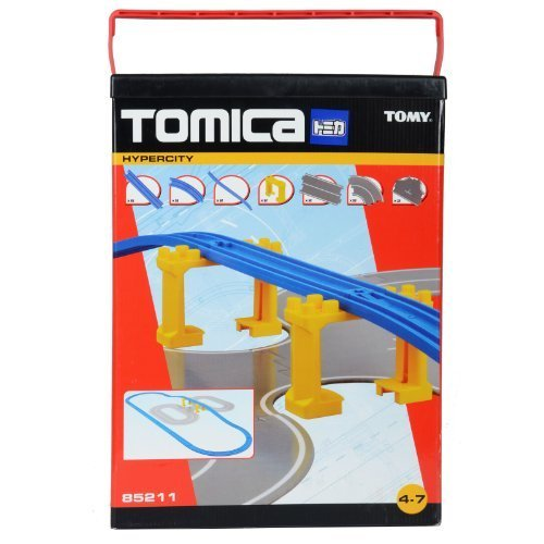Tomica 85211 Hypercity Road &Amp; Rail Expansion Accessory Starter Set
