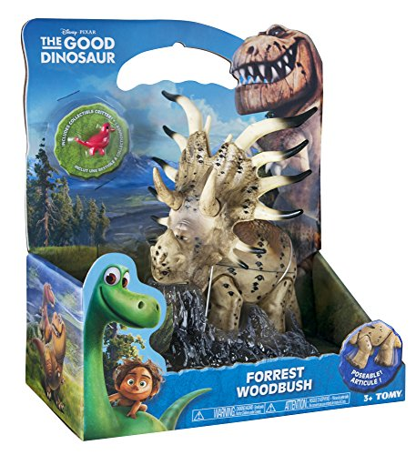 the good dinosaur large figure forrest woodbush discontinued by