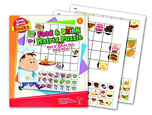 Small World Activity Books Food &Amp; Drink Matrix Puzzle Science Kit