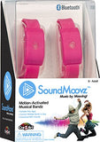 Cra-Z-Art Soundmoovz Musical Bandz, Motion-Activated, Bluetooth Music Player  Pink