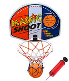 16  Magic Shot Mini Basketball Hoop Set With Ball And Pump