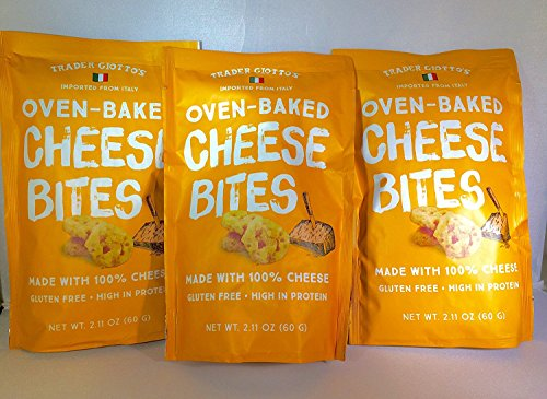 Trader Joe'S Trader Giotto'S Oven-Baked, Gluten-Free, Low Carb Cheese Bites