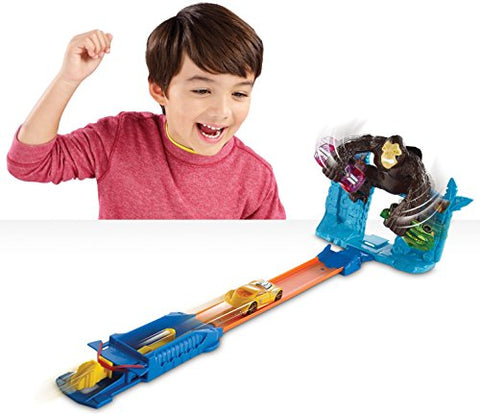 Hot Wheels Gorilla Getaway Track Set