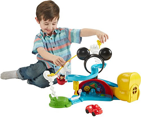 Fisher-Price Disney Mickey Mouse Clubhouse Zip, Slide And Zoom Clubhouse