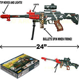 Combat Camo Special Mission Machine Gun Toy Gun