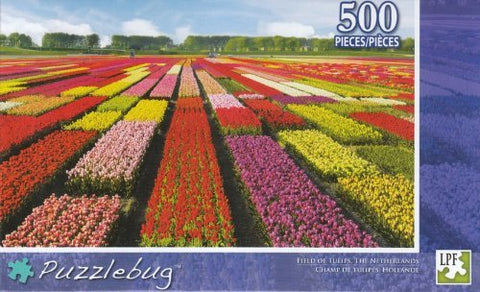 Puzzlebug 500 - Field Of Tulips
