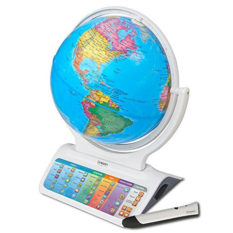 Smart Globe Infinity Sg328 - Interactive Globe With Updatable Touch Pen Technology