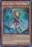 Yu-Gi-Oh! - Ritual Beast Tamer Wen (Thsf-En024) - The Secret Forces - 1St Edition - Secret Rare
