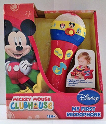 Disney Mickey Mouse Clubhouse My First Microphone By Natorytian