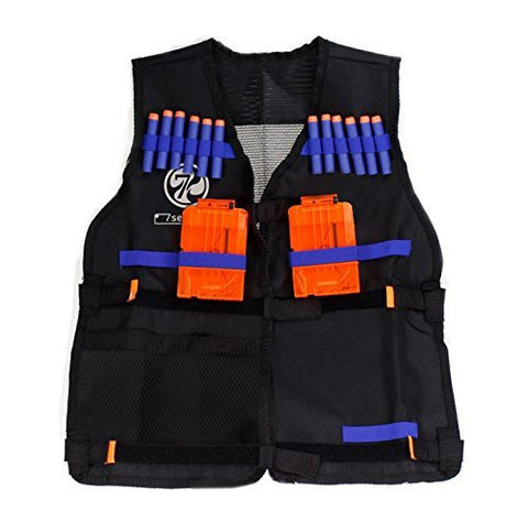 7Seventoys Elite Tactical Vest For Nerf N-Strike Elite Series( Only Included Vest And Mask )