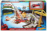 Hot Wheels Marvel Spidey'S Spinning Web Swing Track Set