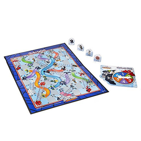 Marvel Spider-Man Web Warriors Chutes & Ladders Game