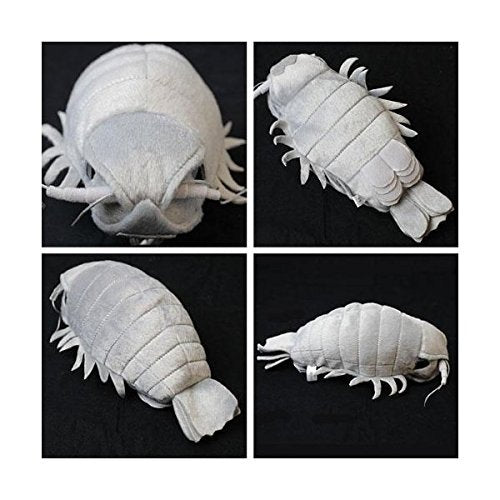 Sea Creature Giant Isopod Realistic Stuffed Plush Doll (M Size) / 20 Cm By Tstadvance
