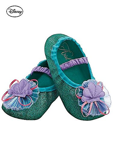 Disguise Costumes Ariel Slippers, Girls, Size 6