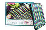 Harrisville Designs 10  Potholder (Pro Size) Loom Kit, Makes 2 Potholders