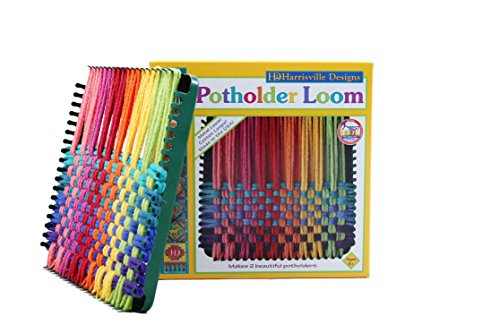 Harrisville Designs 7 Potholder (Traditional Size) Loom Kit, Makes 2 Potholders