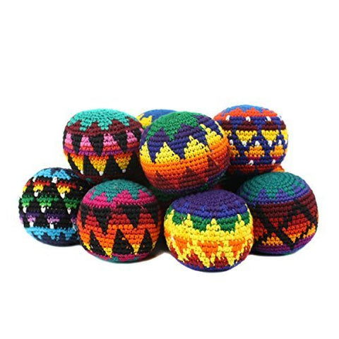Hacky Sack Assorted Color- Set Of 6