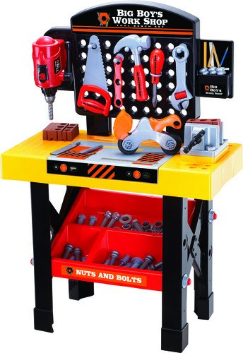 World Tech Toys Big Boys Tool And Ben Ch Work Shop Playset